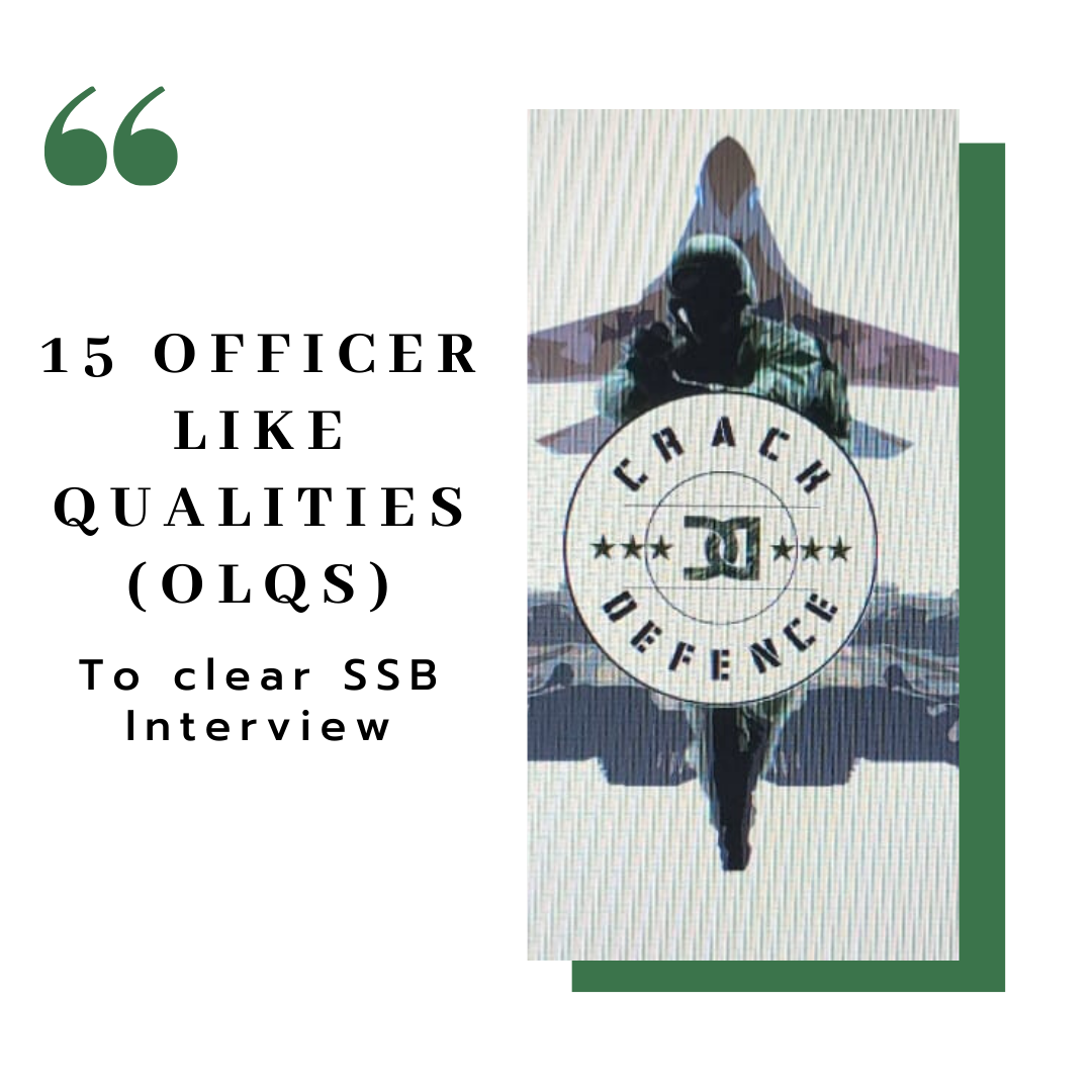 15 officer like qualities