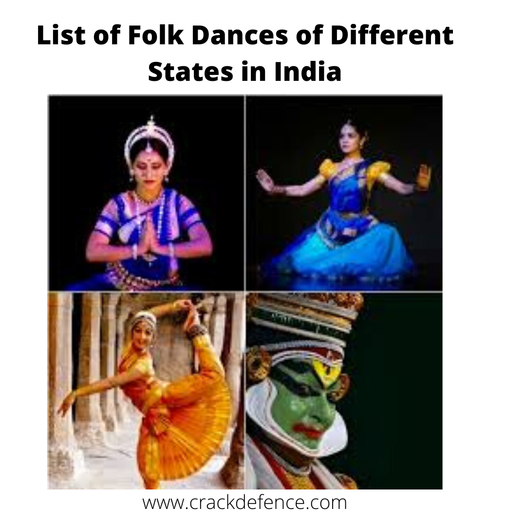 List of Folk Dances of Different States in India